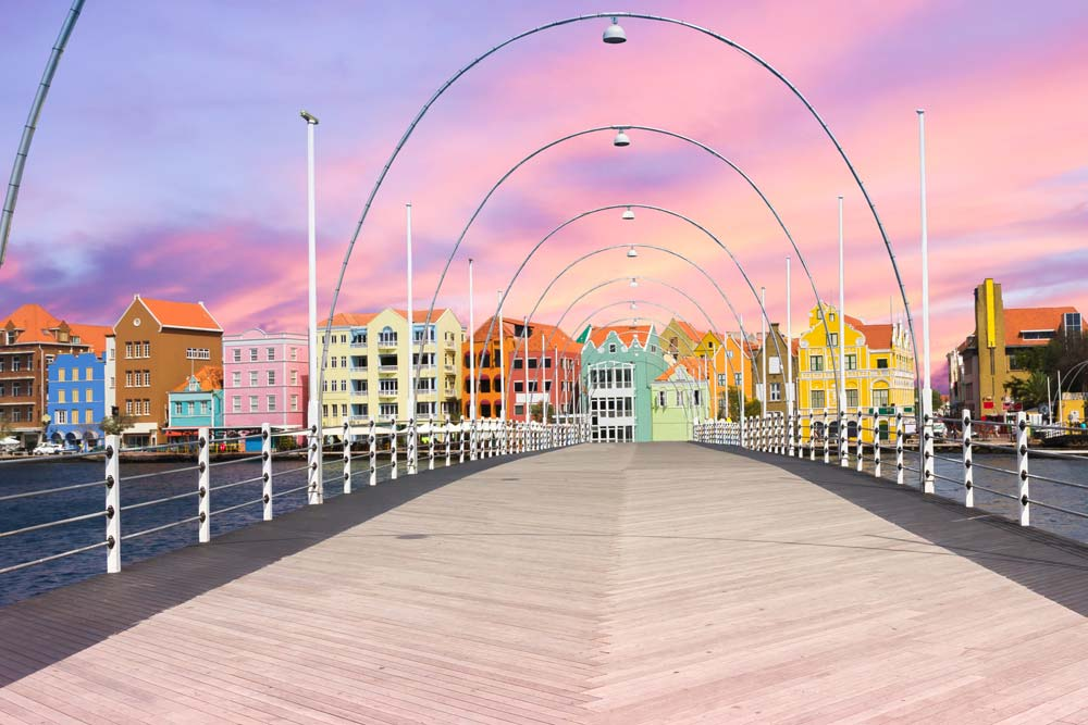 Pontjesbrug in Willemstad